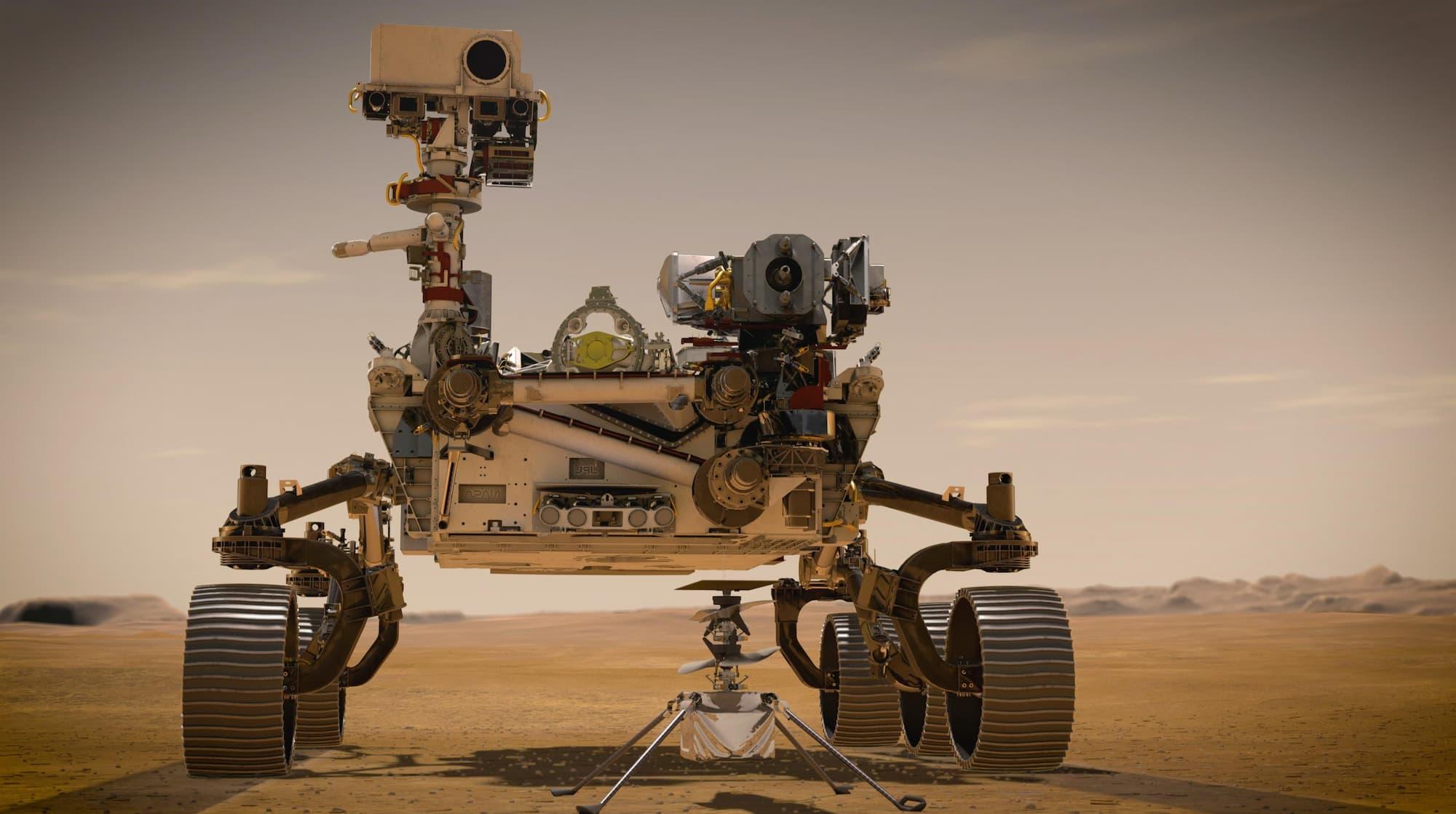 Perseverance @NASAJPL-Caltech