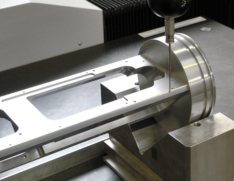 contrôle tridimensionnel prototype pièce mécanique précision - AMV
