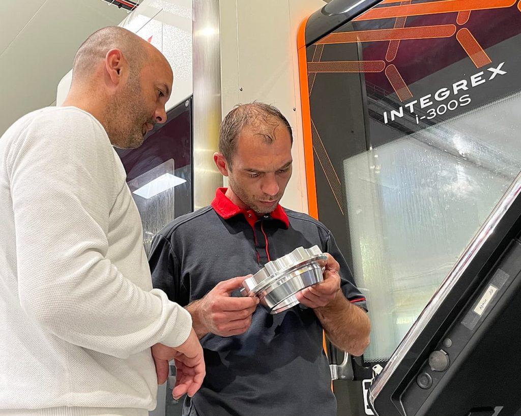 co-industrialisation projet prototype mécanique - AMV
